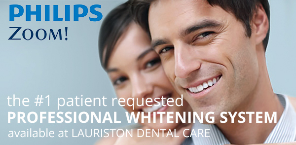 Philips Zoom in chair whitening system at Lauriston Dental Care Edinburgh EH3