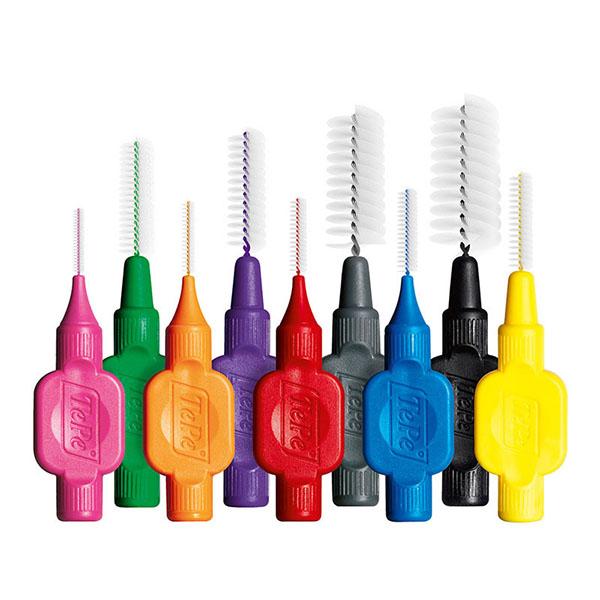 Dental hygiene Tepe interdental brushes in Edinburgh EH3